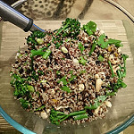 Quinoa, Broccolini, Snowpea and Cashew Salad - Nov 2015